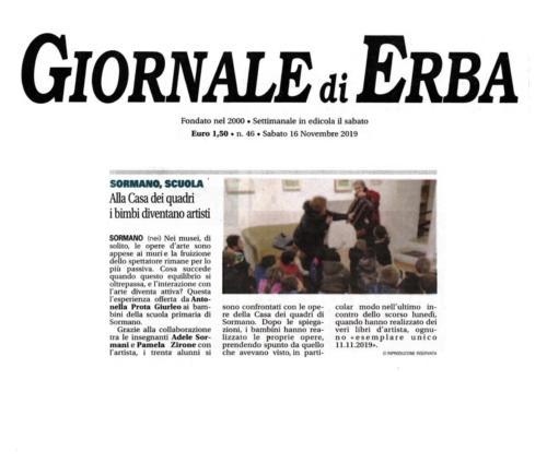 Giornale di Erba 16.11.2019